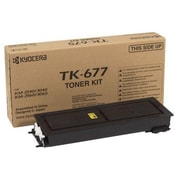 Kyocera Mita TK-677 Black Toner Cartridge, High Yield