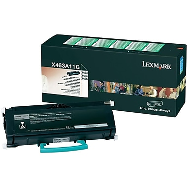 Lexmark X463A11G Black Toner Cartridge (X463A11G)