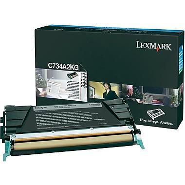 Lexmark C734/X734 Black Toner Cartridge (C734A2KG)