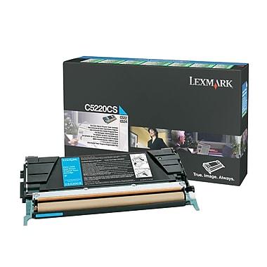 Lexmark C522/524 Cyan Toner Cartridge (C5222CS), Standard