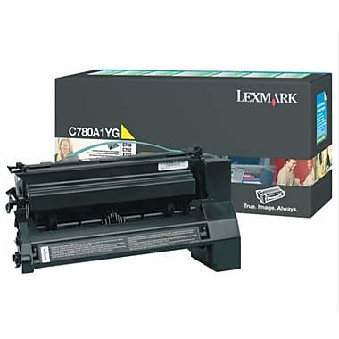 Lexmark C780 Yellow Toner Cartridge (C780A1YG), Return Program