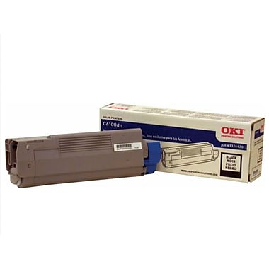 OKI 43324420 Black Toner Cartridge