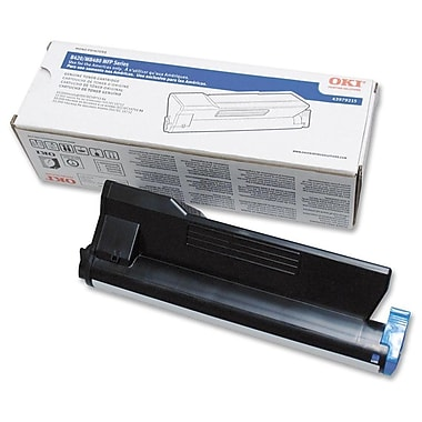 OKI 43979215 Black Toner Cartridge, High Yield