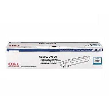 OKI – Cartouche de toner cyan, 42918903
