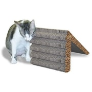 Imperial Cat Scratch 'n Shapes Rub & Ramp Recycled Paper Scratching Post; Italian Blue