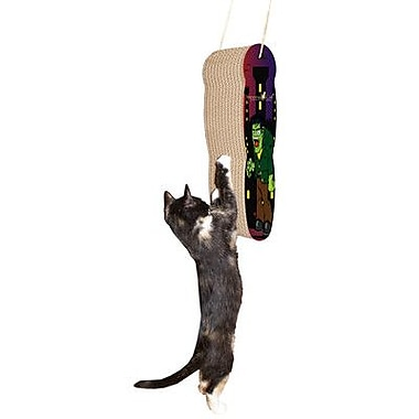 Imperial Cat Scratch n' Shapes Frankie Hanging Recycled Paper Scratching Board