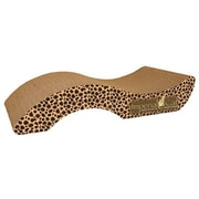 Imperial Cat Scratch 'n Shapes Small Purrfect Stretch Recycled Paper Scratching Board; Jaguar
