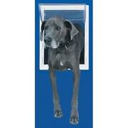 Perfect Pet Super Large White Aluminum Pet Door