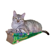 Imperial Cat Scratch 'n Shapes Small Crocodile Recycled Paper Scratching Board