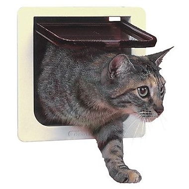 Perfect Pet Cat Door w/ 4 Way Lock Pet Door