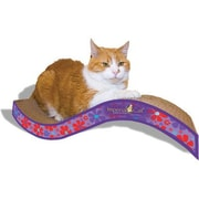 Imperial Cat Scratch n' Shapes Medium Purrfect Stretch Recycled Paper Scratching Board; Valentine B