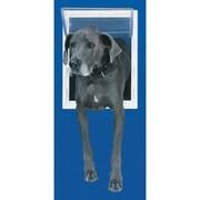 Perfect Pet Small White Aluminum Pet Door