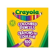 Crayola® Coloured Pencils, Assorted, 100/Pack