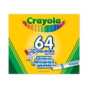 Crayola® Pip-Squeaks Skinnies Markers, Assorted, 64/Pack