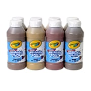 Crayola® Multicultural Paint Set, 8/Pack, 8 Oz