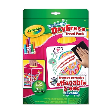 Crayola® Dry Erase Travel Pack