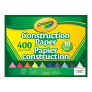 Crayola® Construction Paper, 400 Sheets, 10 Colours