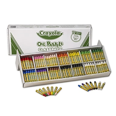 Crayola® Oil Pastels Classpack®, Assorted, 336/Pack
