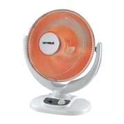 "Optimus H-4439 14"" Oscillation Dish Heater, Champagne"