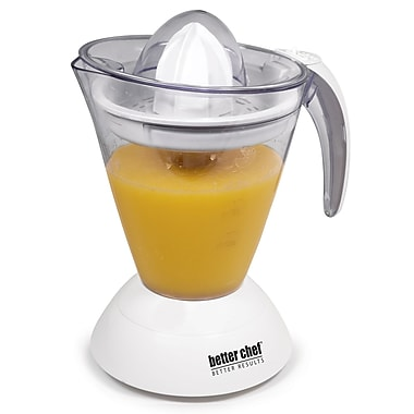 Better Chef® 32 oz. Citrus Juicer With Removable Blade, White