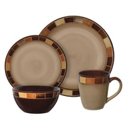Gibson® Elite Casa Estebana Dinnerware Set, 16 Piece, Cream