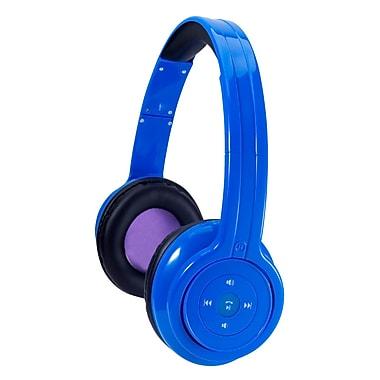Craig CBH508 Bluetooth Stereo Over-Ear Headphone, Blue