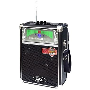 QFX® PBX-2009 Portable PA Speaker With FM Radio and USB/MICRO-SD