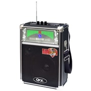 QFX® PBX-2009 Portable PA Speaker With FM Radio and USB/MICRO-SD