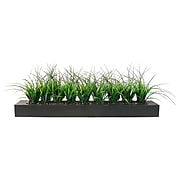 """Vintage Home13"""" Green Grass in Contemporary Planter"""