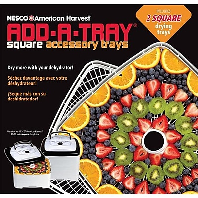 Nesco® Add-A-Tray® Food Dehydrator Accessory Tray, White
