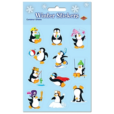 Penguin Stickers, 4-3/4
