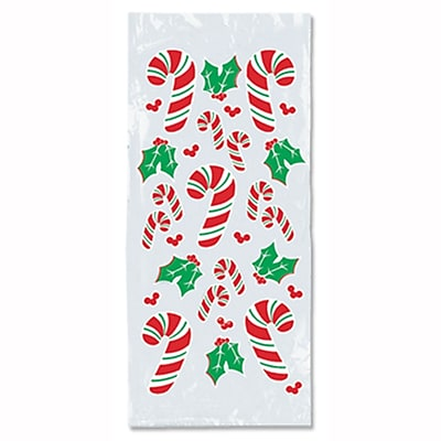 Beistle Candy Cane and Holly Cello Bag, 4