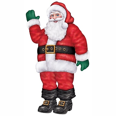 Décoration père Noël articulé, 5 pi, 6 po