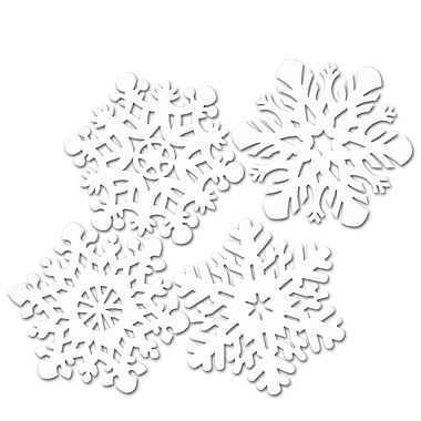 Packaged Snowflake Cutouts, 14
