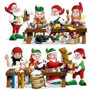 Santa's Workshop Props, 4/Pack