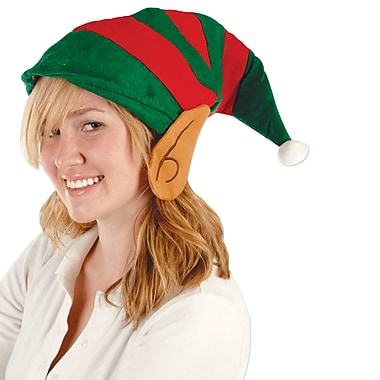 Felt Elf Hat with Ears, 2/Pack