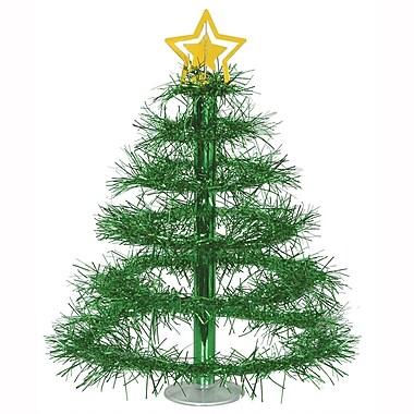 Milieu de table « Sapin vert de Noël », 16 po, paquet de 2