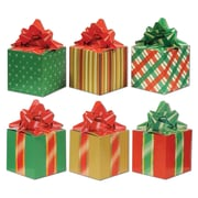 "Beistle 3 1/4"" x 5 3/4"" Christmas Favor Box, 12/Pack"