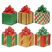 "Beistle 3 1/4"" x 5 3/4"" Christmas Favor Box; 12/Pack"