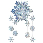 """3-D Snowflake Mobile, 22"""", 4/Pack"""