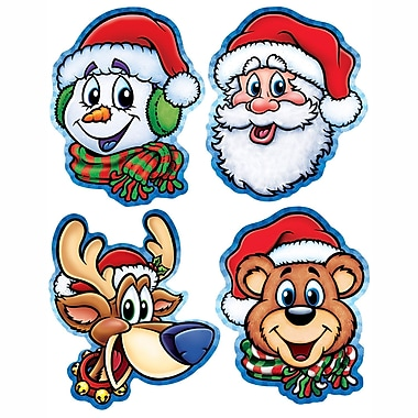 Packaged Christmas Companion Cutouts, 14