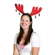 Serre-tête de Noël avec bois de cerf, paquet de 2