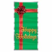 "Happy Holidays Door Cover, 30"" x 5', 3/Pack"