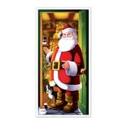 "Santa Door Cover, 30"" x 5', 3/Pack"