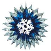 "Snowflake Fan-Burst, 15"", 4/Pack"