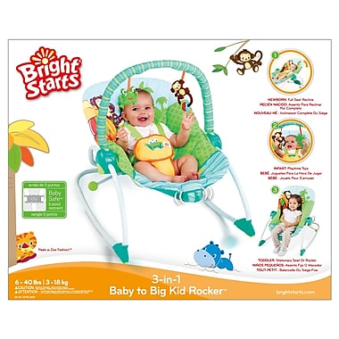 Bright Starts™ – Balancelle pour bébé Peek-a-Zoo™