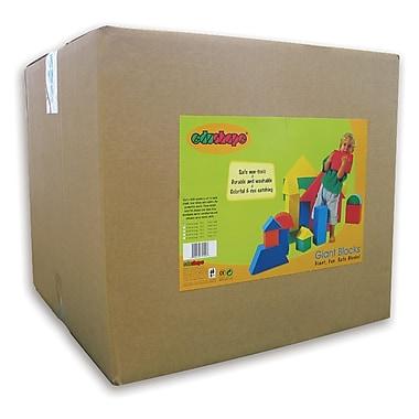 EdushapeMD – Blocs géants, 32/paquet