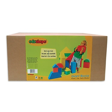 Edushape® Giant Blocks, 16/Pack
