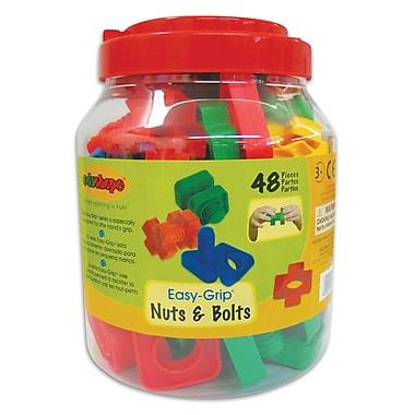 Edushape® EZ-Grip Nuts And Bolts