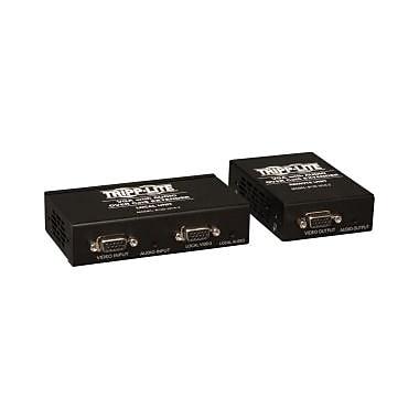 Tripp Lite – Trousse de prolongateur VGA/Audio sur Cat5 (émetteur + récepteur), 1 entrée, 2 sorties, (B130-101A-2)